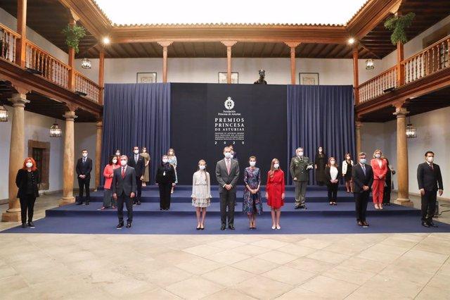 La Familia Real en los Premios Princesa de Asturias