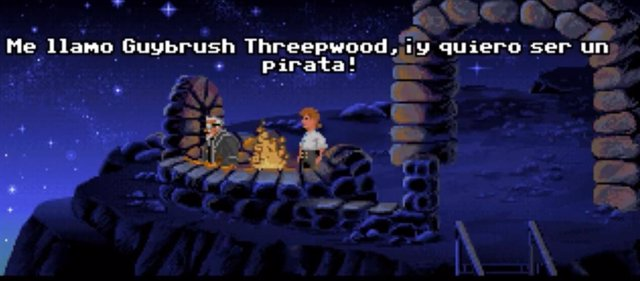 El joven Guybrush Threepwood y su aventura The Secret of Monkey Island cumplen 3