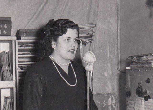 Imatge de l'exposició 'Dones a les ones' del Museu d'Història de Catalunya