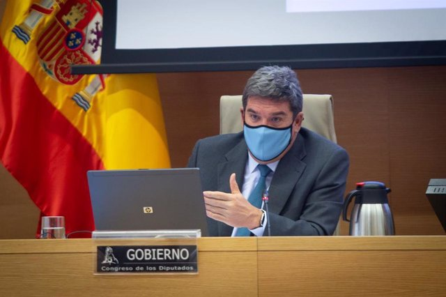 El ministro de Inclusión, Seguridad Social y Migraciones, José Luis Escrivá, comparece en el Congreso en Comisión