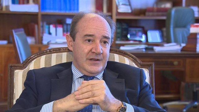 Presidente del Tribunal Superior de Justicia de Madrid, Celso Rodríguez.
