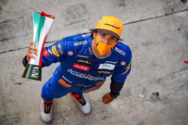 """Fórmula 1.- Sainz: """"Mi padre me sigue subiendo el listón y es una motivación inc"""