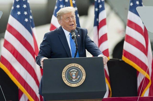 EEUU.- Trump bromea con abandonar el país si Biden gana las elecciones