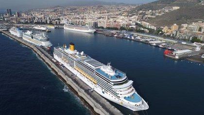 Los cruceros podrán volver a operar en los puertos canarios a partir del 5 de noviembre