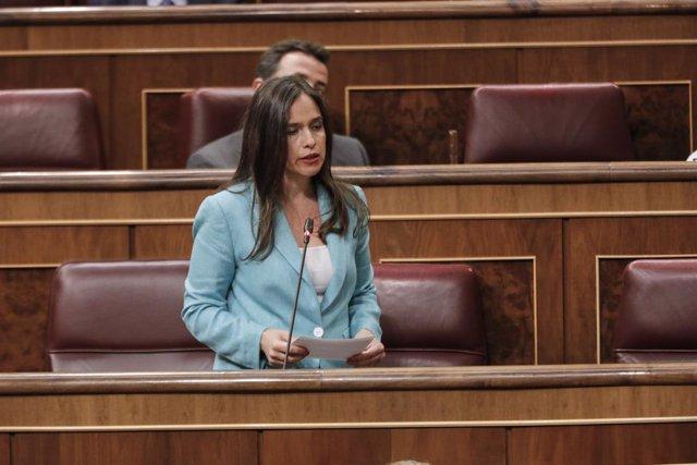 La diputada del PP Belén Hoyo.