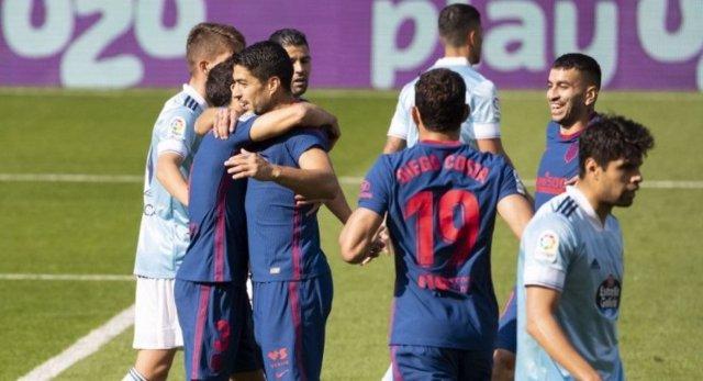 Fútbol/Primera.- Crónica del Celta - Atlético de Madrid, 0-2
