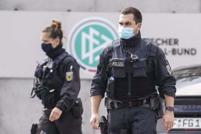 Agents de la Policia alemanya