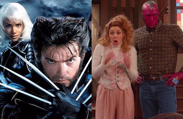 ¿Las Películas De X-Men Forman Parte Del Multiverso Marvel Gracias A Bruja Escarlata Y Visión?