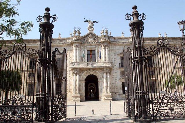 Rectorat de la Universitat de Sevilla, en una imatge d'arxiu.