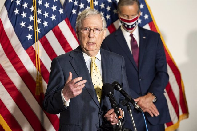 EEUU.- El Senado estadounidense votará este martes el paquete de estímulo republ
