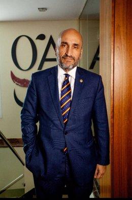 Fernando Santiago, presidente del Consejo General de Colegios de Gestores Administrativos de España