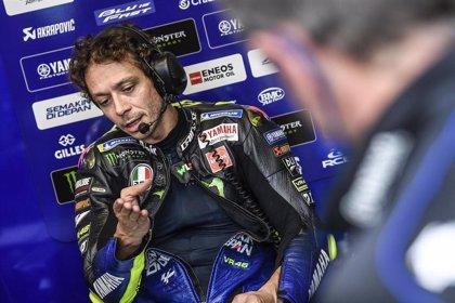 Valentino Rossi no estará en el Gran Premio de Teruel y no tendrá sustituto