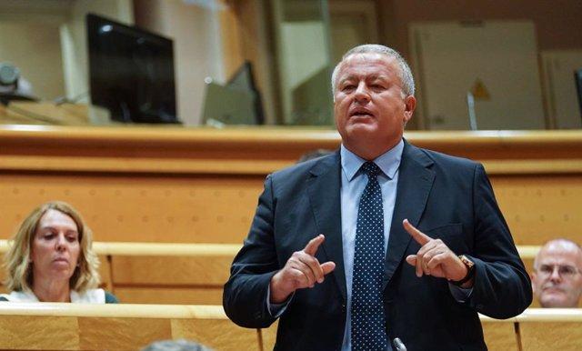 El senador del PP, Francisco Bernabé