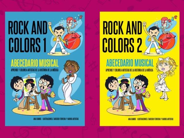 Libros 'Rock And Colors' 1 y 2