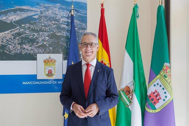 Juan Lozano, presidente de la Mancomunidad del Campo de Gibraltar