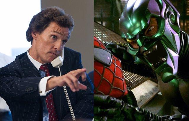 Matthew McConaughey podría ser el Duende Verde en Spider-Man 3