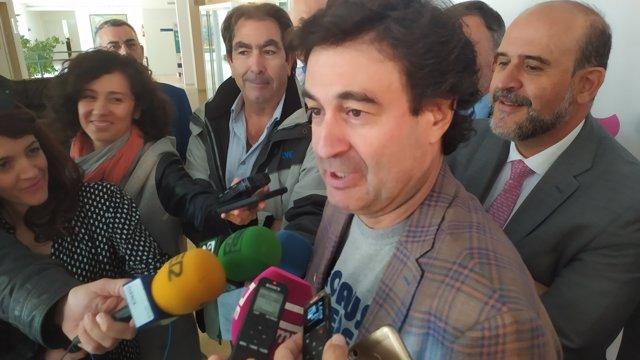 El chef toledano Pepe Rodríguez realiza declaraciones en Culinaria.