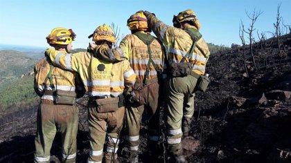 Sucesos.- Muere un bombero forestal durante los trabajos de extinción de un incendio en Vila-real