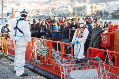 Cerca de 1.400 migrantes han llegado a costas españolas durante esta semana, 876 en las últimas 48 horas