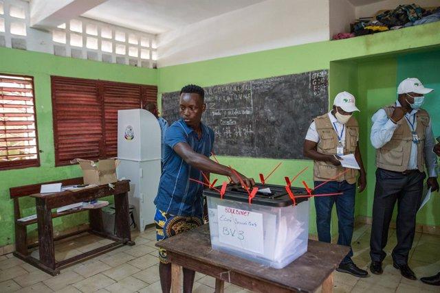 Guinea.- Terminas las elecciones presidenciales de Guinea