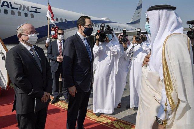 Israel/Bahréin.- Israel y Bahréin formalizan el establecimiento de relaciones di