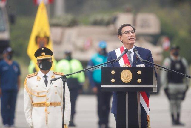 Perú.- Nuevos testigos acusan al presidente Vizcarra de recibir 310.000 euros a