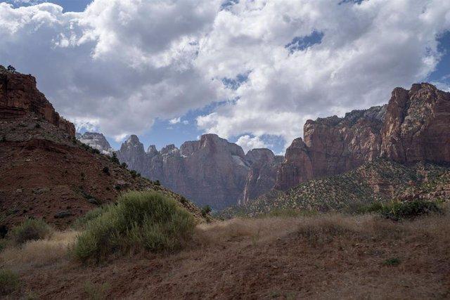 Parque Nacional de Zion, estado de Utah, en el oeste de EEUU.