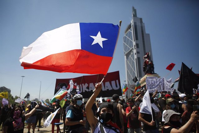 Chile.- El Gobierno de Chile destaca las manifestaciones pacíficas y condena la