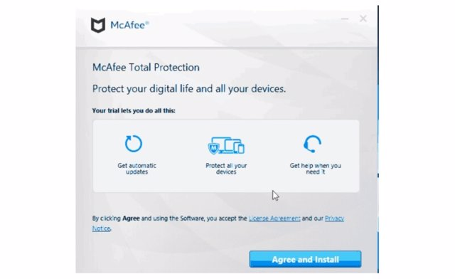 Actores maliciosos suplantan el antivirus McAfee en sus ataques dirigidos a la c