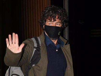 Nacho Palau, tranquilo y confiado a su llegada al juicio que le enfrenta a Miguel Bosé