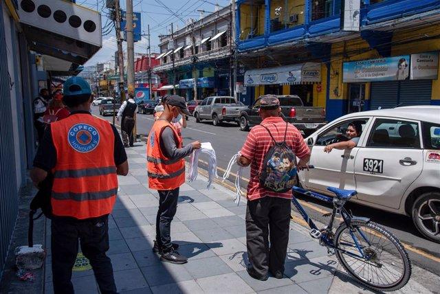 Medidas de prevención contra el coronavirus en San Pedro Sula