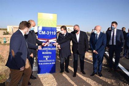 Entra en funcionamiento el enlace entre CM-3151 y A-43 entre Villarrobledo y Munera tras 810.000 euros de inversión