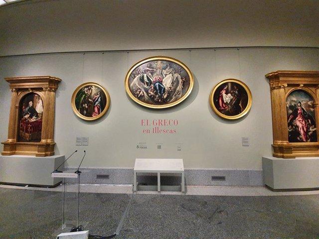 El Museo Nacional del Prado ha presentado este lunes 19 de octubre la exposición 'El Greco en Illescas'