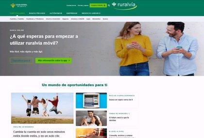 Caja Rural de Aragón estrena una nueva web comercial