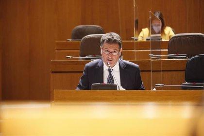Bellido urge a crear un nuevo juzgado de lo Social y otro de Violencia contra la Mujer en Aragón