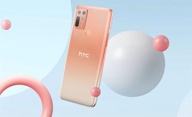 HTC apuesta por la gama media con el nuevo móvil HTC Desire 20+, con 5.000 mAh y
