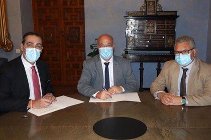 Diputación y Anfane renuevan su colaboración para ayudar a los colectivos sociales más vulnerables