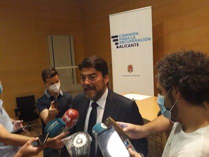 """El alcalde de Alicante pide al Consell que module las restricciones por territorios para evitar """"situaciones absurdas"""""""