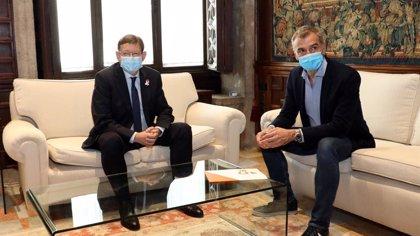 Puig y Cantó valoran la voluntad de diálogo para los presupuestos y acuerdan un equipo de trabajo que buscará acuerdos
