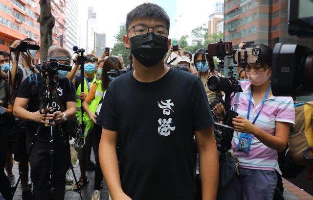 Tailandia.- Activistas hongkoneses salen a la calle en señal de apoyo a las prot