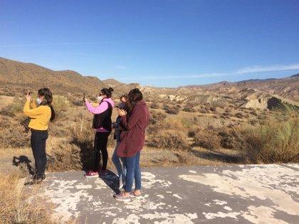Blogueros de viajes conocen la calidad del turismo de interior de 'Costa de Almería'