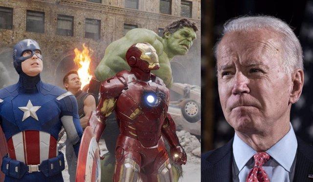 Las estrellas de Vengadores recaudan fondos para Joe Biden