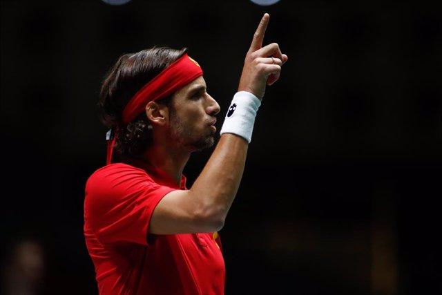 Tenis.- Feliciano López debuta con triunfo en Amberes