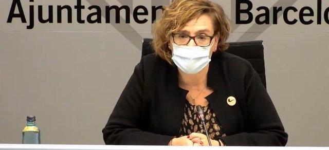 La regidora de Règim Intern i Hisenda de Barcelona, Montserrat Ballarín (PSC).