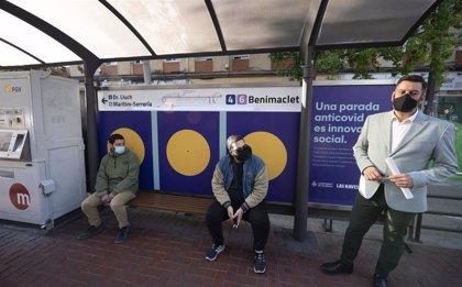 Una parada de tranvía que avisa si se incumplen distancias, entre las propuestas de innovación social de Las Naves