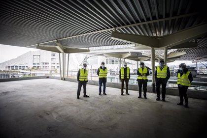El edificio Fontán del Gaiás se encuentra al 70 por ciento de ejecución y  estará terminado en primavera de 2021