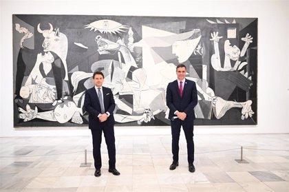 Sánchez se reunirá este martes con Conte en Roma y clausurarán juntos el Foro Hispano-Italiano