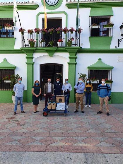 Diputación suministra equipos informáticos a cinco localidades de la Sierra
