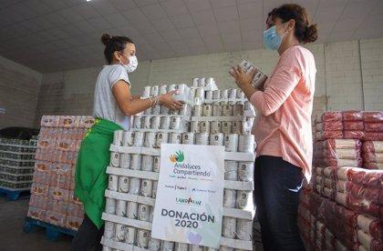 'Andaluces Compartiendo' dona 60.000 kilos de alimentos a las familias más necesitadas de Huelva