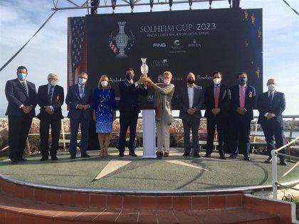 La Junta destaca que la Solheim Cup en 2023 consolida a Andalucía como referente mundial del deporte